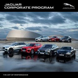 Jaguar is offering access to their Jaguar Corporate Programme on all new vehicles